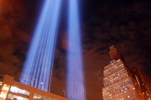 Photo of 9/11 Memorial by Ludovic Bertron